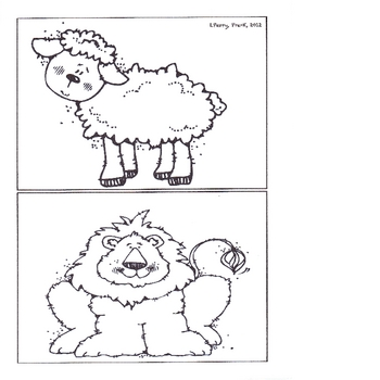 Counting Syllables- Lion or Lamb?