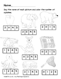 Counting Syllables Packet