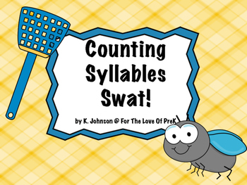 Counting Syllables Swat