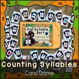 Counting Syllables for Preschool and Kindergarten (Fall Th