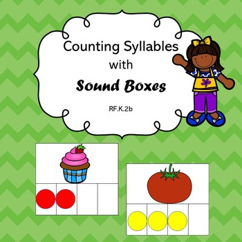 Counting Syllables using Sound Boxes