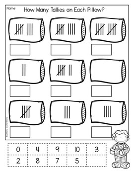 Counting Tallies: Tally Practice Pages