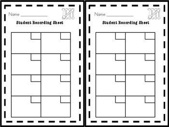 Counting Tallies by 5's Task Cards