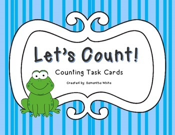 Counting Task Cards