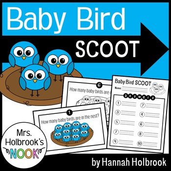 Counting Task Cards {Become a Mental Math Wiz} - Baby Bird SCOOT!