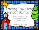 Counting Task Cards Kindergarten