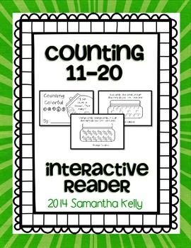 Teen Numbers Interactive Reader