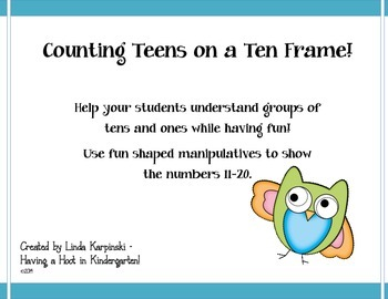 Counting Teens on a Ten Frame!