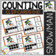 Counting Ten Frame Clip Cards 0-10: Christmas 2