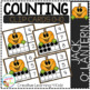 Counting Ten Frame Clip Cards 0-10: Halloween 2