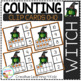 Counting Ten Frame Clip Cards 0-10: Halloween