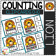 Counting Ten Frame Clip Cards 0-10: Spring Animals
