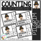 Counting Ten Frame Clip Cards 0-10: Thanksgiving