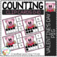 Counting Ten Frame Clip Cards 0-10: Valentine's Day Bundle