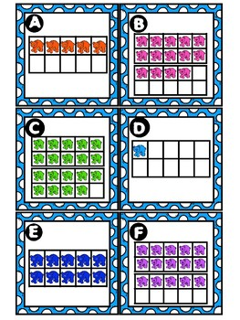 Counting Ten Frames (1-30)