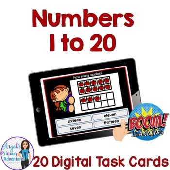 Counting Ten Frames Digital Task Cards BOOM CARDS