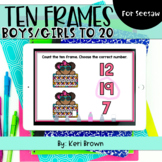 Counting Ten Frames to 20   Seesaw Activity