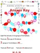 Counting Tens and Left Overs with Balloons: Worksheet