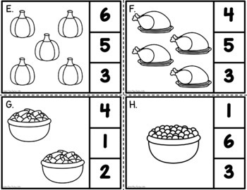 Counting Thanks - Number Identification