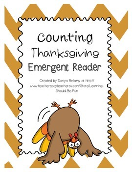 Counting Thanksgiving Math & Emergent Reader