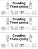 Counting Thanksgiving Math Book