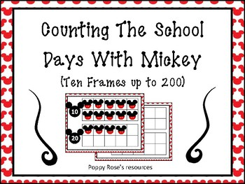 Counting The School Days With Mickey