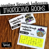 Counting Through Halloween - Interactive Books for Numbers 1-10