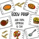 Counting Through Thanksgiving - Clip Cards for Numbers 1-10