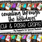 *FLASH SALE* Counting Through The Holidays - Cut and Paste Bundle
