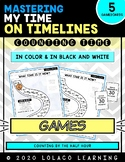 Counting Time by the Half Hour on a Timeline - Game