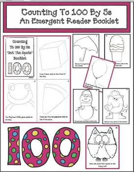 Counting To 100 By 5s: An Emergent Reader Booklet! Great For 100 Day