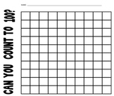 Counting To 100 Worksheet