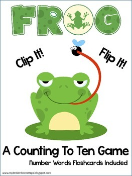 Counting To Ten With Flies and Frogs Center