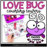 Valentine's Day Number Counting Towers