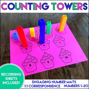 Counting Towers: a 1:1 Correspondence Center
