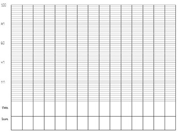 Counting Tracking Sheet