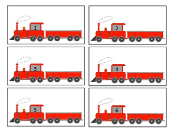 Counting Train: Practice Counting 1-10