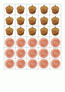 Counting Tray - Sets from 1 to 5