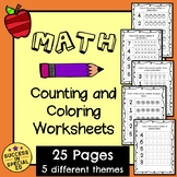 Math - Counting Triangles Worksheet