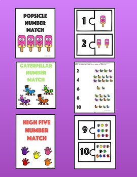 Counting Trio Pack {1-10}