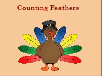 Counting Turkey Feathers (one to one correspondence)