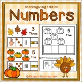 Numbers 1-10-Thanksgiving Edition
