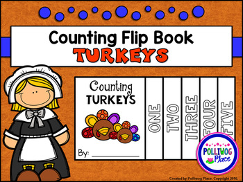 Counting Turkeys Number Flip Book
