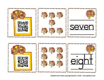 Counting Turkeys with QR Codes