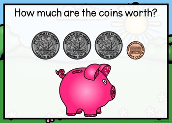 Counting U.S. Coins Boom Cards
