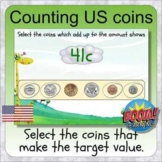 Counting US coins (BOOM digital distance learning - Americ