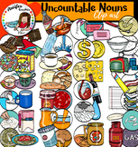 Counting Uncountable Nouns. 108 items!