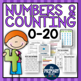Numbers and Counting 0-20 + Exit Slip Assessments