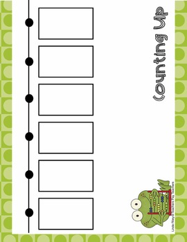 Counting Up: Addition Strategy Worksheets