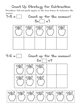 Counting Up With Tens Frames